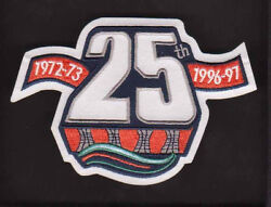 NHL NEW YORK ISLANDERS 25TH ANNIVERSARY 1972-73 - 1996-97 PATCH