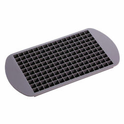 160 Silicone Grids Small Ice Cube Tray Ice Mold Kitchen Tool For Whiskey cola $5.69