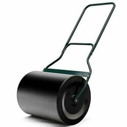 Rustproof Behind Poly Push Tow Lawn Push Tow Roller Water Filled Heavy Duty NEW
