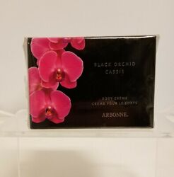 Arbonne Exotic Black Orchid Cassis Senuous Body Cream Unforgettable Irresistible