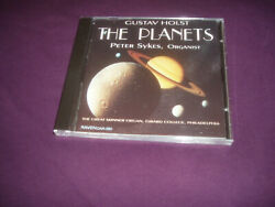 GUSTAV HOLST  THE PLANETS Peter Sykes playing the Great Skinner Organ SEALED new