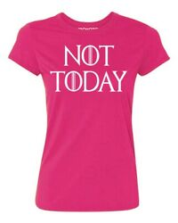 Not Today God of Death Funny Novelty Women#x27;s T shirt Casual tee $6.95