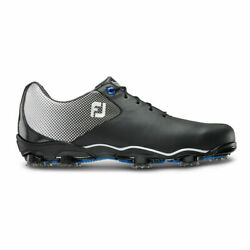 New in Box Footjoy DNA Helix Men#x27;s Golf Shoes Style #53318 Black and White $119.99