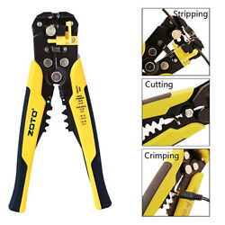 Cable Wire Stripper Cutter Crimper Automatic Multifunctional Plier Electric $12.99