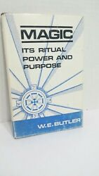 Magic Its Ritual Power and Purpose W.E. Butler Hardcover 1967 2nd Edition
