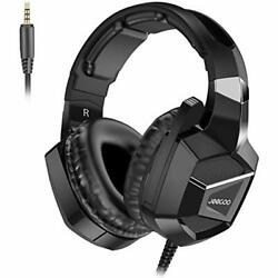 J20 Headsets Stereo Gaming - Bass Surround Soft Memory Earmuffs Noise Cancelling