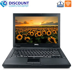Dell Laptop Computer Windows 10 Latitude 14quot; PC Intel Core 2 Duo 4GB 160GB DVD $174.99
