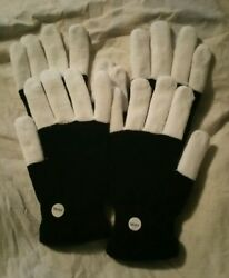 2 Pairs Blinking Light Up LED Flashing Stretch Gloves Finger Mitts One Size Fits $19.99
