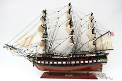 USS Constitution Tall Ship Full Assembled 40