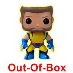 Funko Pop! Out-Of-Box Wolverine (Glow in the Dark Unmasked) 40 - Toytastik Excl