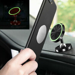 360° Magnetic Car Dashboard Phone Holder Mount Cellphone GPS Stand Glow in Dark $3.13