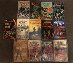 Lot of 13 Fantasy Paperback Books - Hobbit Prince Forum War of the Powers