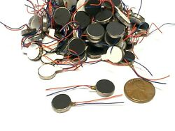 50 Pieces Vibration coin Vibrating motor 12mm small brushless 1400rpm micro B14 $35.00