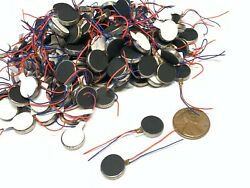 100 Pieces Vibration coin Vibrating motor 12mm small brushless 1400rpm micro B14 $80.00
