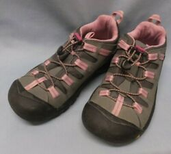 Keen Koven Pink Gray Hiking Women#x27;s Waterproof Shoes Size 5 Toggle $36.99