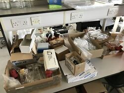 Job Lot Of Laboratory Glassware For Labs Schools Pyrex Eppendorf Tubes Flasks
