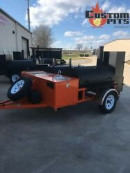 bbq smoker trailer custom built and fully loaded. Options listed below