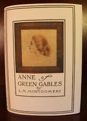 L. M. Montgomery Anne of Green Gables 1908 First Edition 3rd Printing Children's