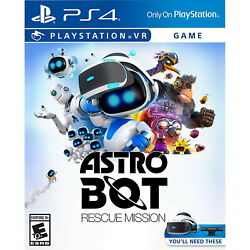 Astro Bot: Rescue Mission VR PS4 Factory Refurbished $14.92