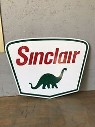 Antique Vintage Old Style Sinclair Dino Sign