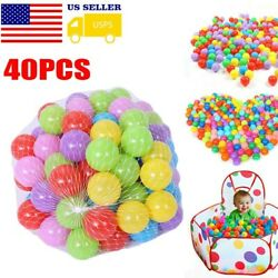 400pcs Colorful Ball Plastic Ocean Ball Funny Baby Kids Swim Pit Pool Toys Funny