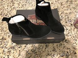 womens harley boots size 9 $85.00