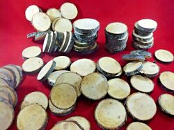 60 PINE WOOD SLICES 2