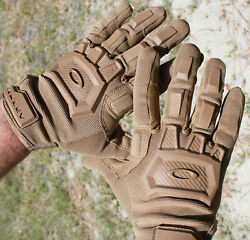 OAKLEY SI Standard Issue Flexion 2.0 Men#x27;s Coyote Shooting Range Tactical Gloves $40.00