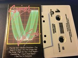 Survivor Vital Signs 1984 US Cassette - The Search is Over High On You