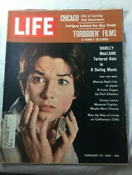 Life Magazine Feb 1962 Shirley MacLaine A Darling  Movie Night life in Japan