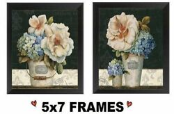 💗 5x7 Paris Flower Pictures Rustic France Floral Kitchen Decor Wall Hangings $8.99
