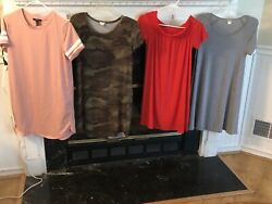 Lot Of 4 Small Womens Teen Dresses
