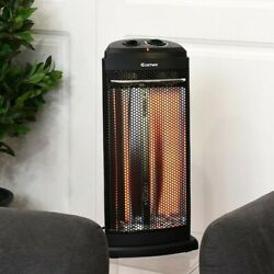 Electric Quartz Space Heater Radiant Infrared Portable Home Office Desktop Tower $214.95