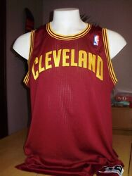 adidas PRO GAME CUT CLEVELAND CAVALIERS CAVS AUTHENTIC BLANK JERSEY 3XL