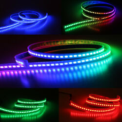 WS2812B 5050 RGB LED Strips 30 60 144LEDs M WS2812 IC Individual Addressable 5V