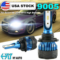 9005 HB3 LED CSP 72W 8000LM Headlight High Beam Bulbs For Scion XB 2008-2015 USA