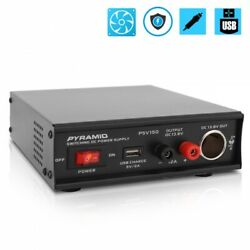 Pyramid PSV150 Desktop Bench Power Supply AC to DC Power Converter 12 Amp $68.99