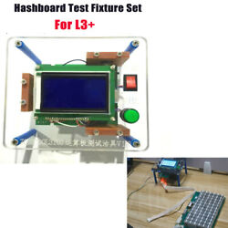 Antminer Test Fixture for L3+ hash board repair miner chip inspect test stand ww