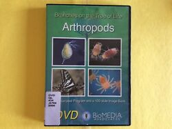 ARTHROPODS BRANCHES ON THE TREE OF LIFE DVD FREE SHIP