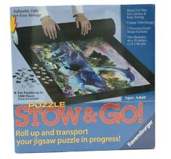 Ravensburger Stow n Go Puzzle Roll Up Jigsaw Mat 46 x 26 Up To 1500 Pieces