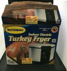 Butterball Indoor Electric Turkey Fryer - Up to 14lbs