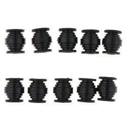 10pcs Anti Vibration Rubber Damper Balls for FPV Quadcopter Flight PTZ Black $9.53