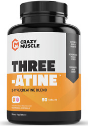 Crazy Muscle® Creatine Monohydrate Pills: PROVEN Muscle Building Supplement ✅✅ $15.49