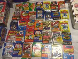 Old Baseball Cards 100 Cards In Unopened Packs + Bonuses Nice Lot Untouched