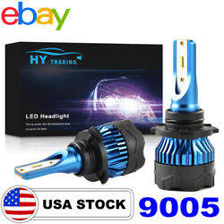 9005 9145 LED Headlight Kit 72W 8000LM High Low Beam Bulbs HB3 H10 6000K White