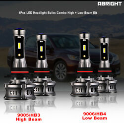 9005 9006 LED Headlights Bulbs High For Ford Expedition W o projector 03 2006 US $59.99