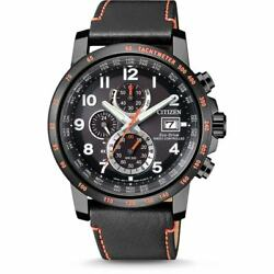 Citizen Eco-Drive Men's Chronograph Atomic World Time 43mm Watch AT8125-05E