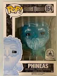 RARE DISNEY PARKS GUS ERROR BOX NAMED PHINEAS FUNKO POP HAUNTED MANSION EXCL.