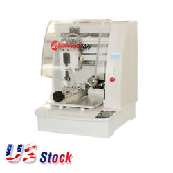 Small Size Four Axes Jewelry CNC Engraving Machine US Stock