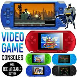 Upgraded Portable Handheld Video Game Console Gaming Player PVP PXP3 Retro Games